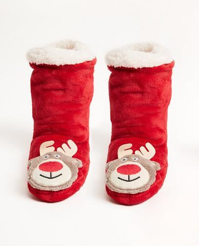 Chaussettes de Noël renne